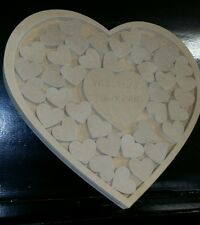 RAW mdf guest book alternative wedding christening special occasions