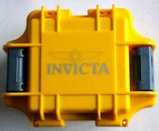 Invicta Single Slot Watch Hard Shell, Foam-lined Impact Travel/Storage Case