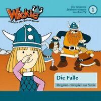 WICKIE UND DIE STARKEN MÄNNER - FOLGE 01: DIE FALLE  CD  9 TRACKS HÖRSPIEL  NEU