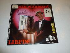 """JANT JE KOOPMANS EN ZIJN BAND - Liefde - Dutch 7"""" Juke Box Single"""