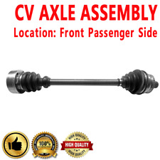 1x Front Passenger Side CV Axle For AUDI A4 QUATTRO L4 1.8L Manual Transmission