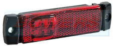 12V/24V SLIM-LINE RED LED REAR MARKER/POSITION LAMP/LIGHT TRUCK LORRY TRAILER