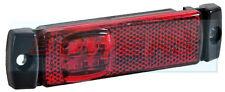 12V / 24V Slim-Line ROSSO LED POSTERIORE MARCATORE / Posizione Lampada / Luce CAMION FURGONE RIMORCHIO