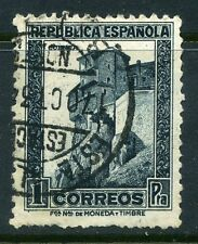 SPAIN;  1931 early Republica issue fine used 1P. value
