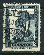 SPAGNA; 1931 presto la REPUBBLICA EMISSIONE SOTTILI VALORE USATO 1p.