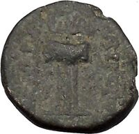ANTIOCH in SELEUKIS and PIERIA 56BCZeus Tripod Ancient Greek Coin RARE i50336