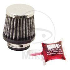 Luftfilter K&N rund-konisch 35mm Chrom