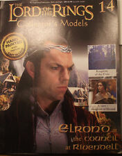 Elrond at the Council at Rivendell. Model & magazine. Eaglemoss. Issue 14 (G289)