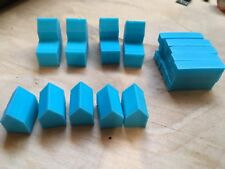 Settlers Of Catan replacement pieces - 12 Colors - Made in the USA