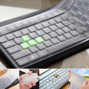 1pc universale silicone chiara tastiera pc copertura crema protettiva film