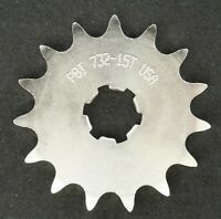 PBI - 732-15 -  Front Countershaft Sprocket, 15T - Made In USA