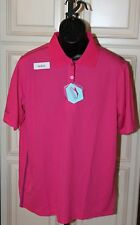 Slazenger Verge Golf Polo Shirt Large L Pink Mens New
