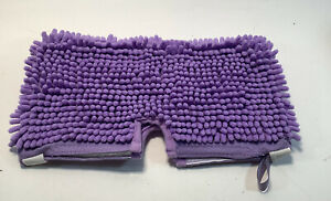 """7"""" x 13"""" Purple Cloth Cleaning/Mopping/Dusting Pad"""