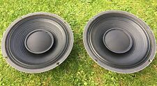 "pair celestion g12s-50 12"" speakers 8 Ohm Wizzer Cone Guitar Cab Project"