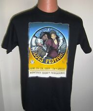 MONTEREY BAY BLUES FESTIVAL-2009-OFFICIAL T-SHIRT-NEVILLE BROTHERS-MANY MORE!