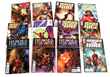 Marvel Comics HEROES FOR HIRE issues 1-12  elektra, ghost rider, spiderman fist