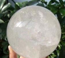 NATURAL Quartz Rock Crystal Sphere/Ball 80mm