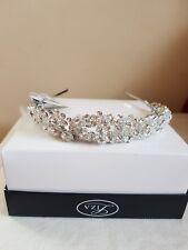 Mariage fait main Swarovski crystal tiara