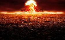 Encadrée Imprimer-Champignon Nuage d'une bombe atomique Explosion (Photo poster art)