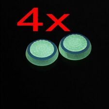 4x Glow in the Dark Joystick Thumb Stick Caps for Sony PS2 3 4 Xbox one/360
