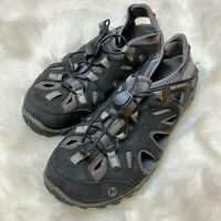 "Merrell Mens Sz. 9 ""All Out Blaze"" Sieve Water Shoes Sandals Vibram Unifly Black"