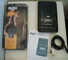More details for bush kcs-317 cassette player portable cassette player/ recorder