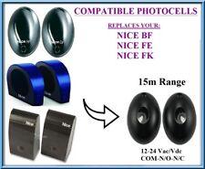 NICE FE, Nice FK, Nice BF kompatibel Lichtschranke, outdoor photocells 12-24V
