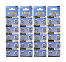 Tianqiu 40pcs AG12 366A LR43 LR1142 Alkaline Single Use Batteries Coin Cells Kit