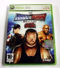 jeu xbox 360 smack  raw 2008   vf  neuf blister