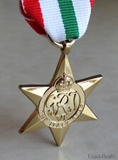 Canada Canadian - British & Commonwealth The Italy Star Campaign Medal WWII