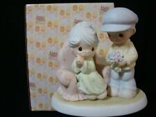 Precious Moments *Huge* Special Tribute Figurine-Many Years Of Blessing You
