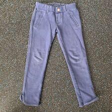Carters Uniform Leggings Navy Blue Pants Little Girls 4T Toddler