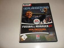 PC  Fussball Manager 07 - Verlängerung