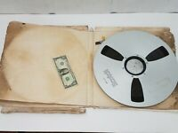 Scotch Vintage 14 Inch Metal 1/4 Inch Tape Reel - With Tape Installed