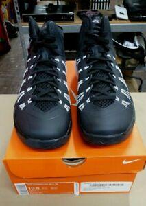 New in Box Nike Lunarlon Hyperdunk 584433-001 Black White Basketball Shoes Men's