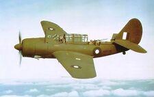 A-25 Curtiss USA Dive Bomber Airplane Mahogany Kiln Dry Wood Model Large New
