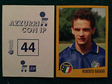 AZZURRI CON IP 1998 98 n 44 ROBERTO BAGGIO Figurina Sticker Merlin New