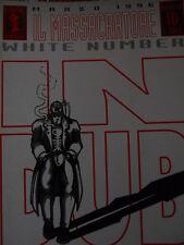 Il Massacratore White Number n°10 1996 Steno Piccoli 1996 [G.158]