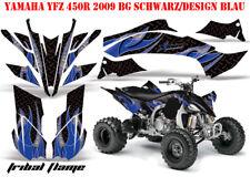 AMR Racing DECORO GRAPHIC KIT ATV Yamaha YFZ 450 04-14, YFZ 450r TRIBAL Flames B