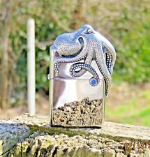 ZIPPO LIMITED EDITION#XXXX/2500 OCTOPUS 3D LIGHTER IN A SPECIAL EDITION CUBE!!