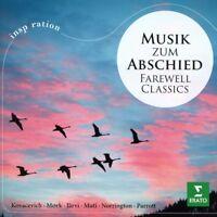 MUSIK ZUM ABSCHIED (BACH, MOZART, BEETHOVEN, MAHLER, GRIEG, ...) CD NEW+
