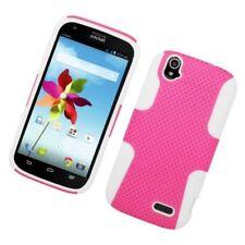 Fundas de color principal blanco para teléfonos móviles y PDAs ZTE
