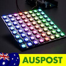 Adafruit NeoPixel NeoMatrix 8x8 - 64 WS2812 RGB LED Pixel Matrix for Arduino