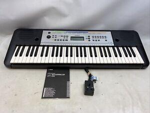 Yamaha YPT-255 Electronic Keyboard With Original Box & Power Cable