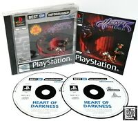 Heart of Darkness PS1 ~ Sony PlayStation PS1 ~ PAL Game *Very Good Complete*