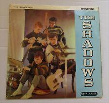 THE SHADOWS Self Titled 1961 UK VINYL LP COLUMBIA BLACK/BLUE LABEL EX/VG
