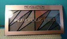 New MakeUp Revolution Revoholic Eyes 12 Shade Eyeshadow Palette 21g Sealed