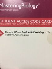 MasteringBiology with Pearson eText Biology: Life on Earth with Physiology 11th