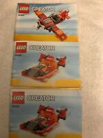 LEGO Creator 31003 Instruction MANUAL ONLY No Bricks