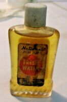 Vintage 1960's National FRESH WATER Fish Scent Bottle Garden Grove Calif
